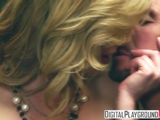 Kayden Kross - Sexy Blonde boss wants her pussy licked at work - Digital Playground