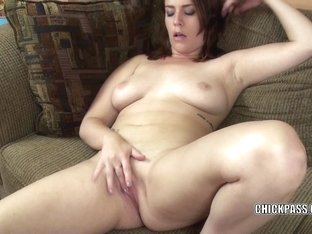 Redhead coed Alisha Adams makes her taut fur pie cum hard