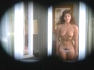 Vintage Aunty stripping for Neighbour