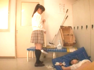Incredible Japanese chick Mahiro Aine in Horny Changing Room, Fetish JAV scene