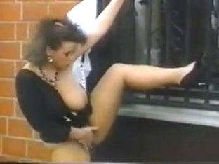 Effie Balconi Vintage German saggy Tits Pissen