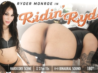 Ryder Monroe in Ridin' Ryder - GroobyVR
