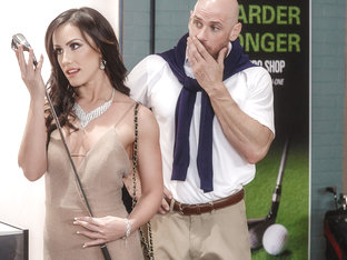 Jennifer White & Johnny Sins in Pounded At The Pro Shop - BrazzersNetwork