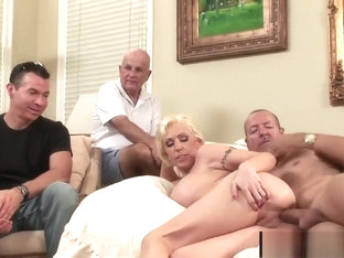 Big Boobed Wife Kasey Grant Is Sodomized by a Stranger in Front of Hubby