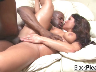 Mahina Zaltana in Busty Milf Mahina Wants All The Black Dick - BlackPlease