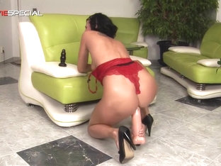 Big Butt Plug Fun For Alicia