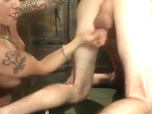 Horny homemade shemale clip with Domination, Big Tits scenes