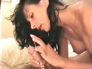 Mom adjusts to living alone with her son - first a tease then they fuck