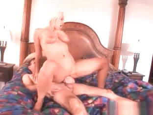 hot blonde gets fucked by older guy