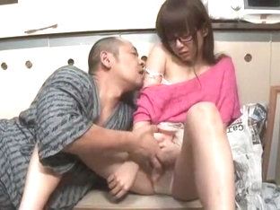 Fabulous Japanese girl Riri Kuribayashi in Hottest Masturbation/Onanii JAV video