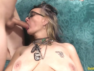 Exotic Granny Lilith Lust Mounts a Younger Dick Like a Professional Slut